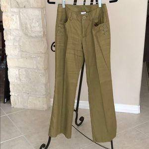 Charlie trouser in olive